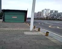 火車站地下通道自建成,從沒有用過