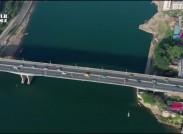 [湖南交通頻道]新中國成立70周年·飛閱湘江的橋永州百里平湖 【航拍:黃子健】