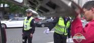 鳳凰園交警持續開展路面交通秩序整治行動