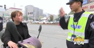 永州公安交警集中開展盔·帶風暴專項行動成效顯著