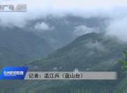藍山:雨后云海美如畫