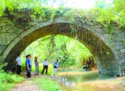 湘桂古道 有橋遺世而獨立:永州發現一座明代石拱橋