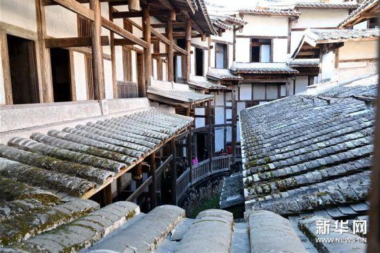 (文化)(5)大型夯土古民居——福建永安安貞堡