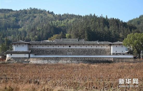 (文化)(2)大型夯土古民居——福建永安安貞堡