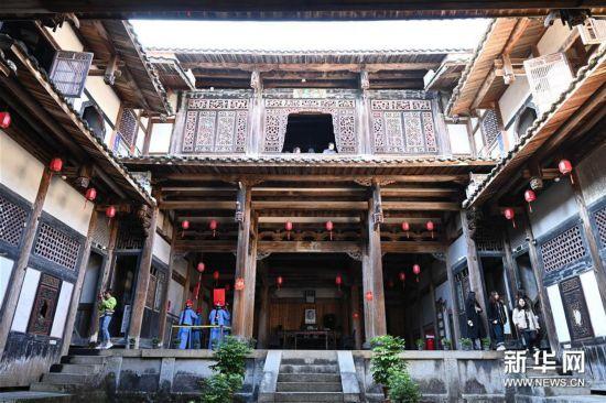 (文化)(1)大型夯土古民居——福建永安安貞堡
