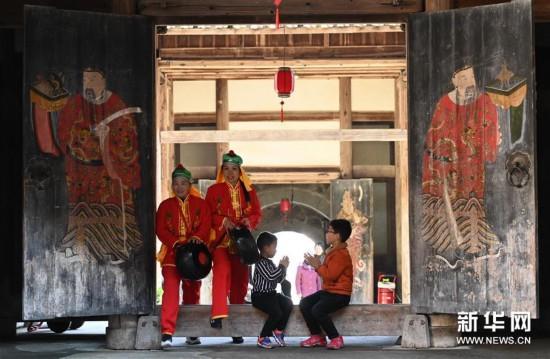 (文化)(3)大型夯土古民居——福建永安安貞堡