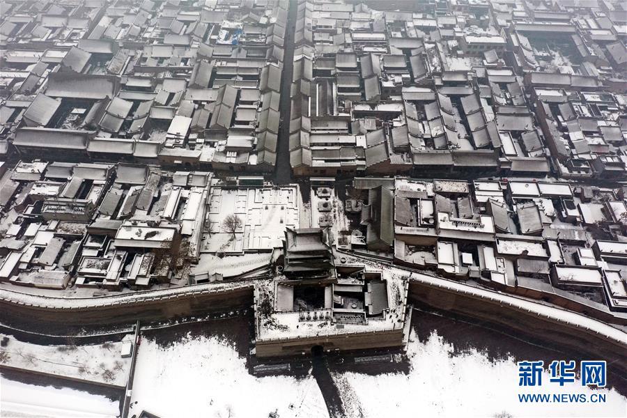 (美麗中國)(1)雪落平遙