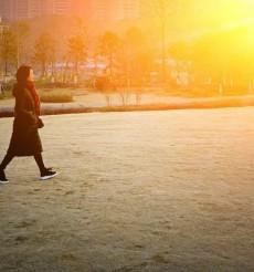 霜重日出暖