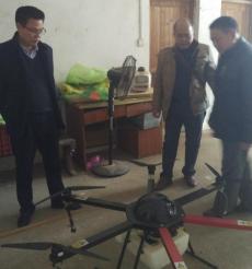 江华县:无人机 植保界的新主力