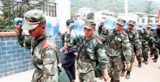习近平指示人民解放军和武警部队大力支持地方做好防汛救灾工作