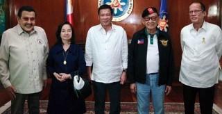 互相不爽的5位菲律賓現任前任總統齊聚:因為中國(圖)