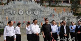 安徽省亳州市党政代表团来永州考察学习