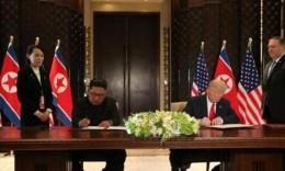 """""""金特會""""聯合聲明說了啥?朝方承諾完全無核化"""