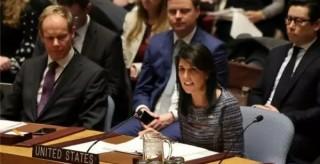 美国官员宣布美国退出联合国人权理事会
