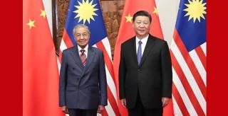 習近平會見馬來西亞總理