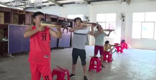 备战省民运会:永州4名运动员参加射弩比赛