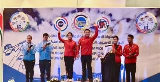 永州射击名将欧阳一流勇夺科威特亚洲射击锦标赛金牌