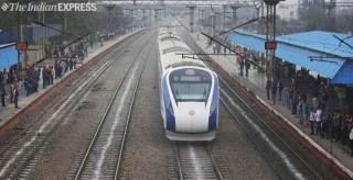 印度首辆国产高铁运营第二天抛锚,称可能撞上牛群致损坏