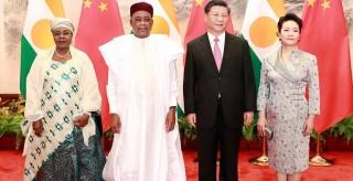 習近平同尼日爾總統伊素福舉行會談