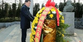 快訊|杜家毫在永州調研,首站向陳樹湘烈士敬獻花籃