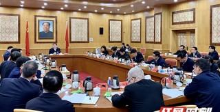 杜家毫:科學研判國際經濟形勢 辦好湖南的事情