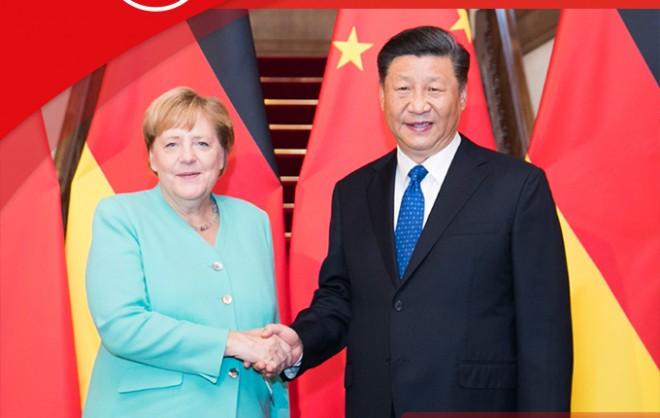 聯播+丨數次會見德國總理 習近平講話釋放這些重要信息