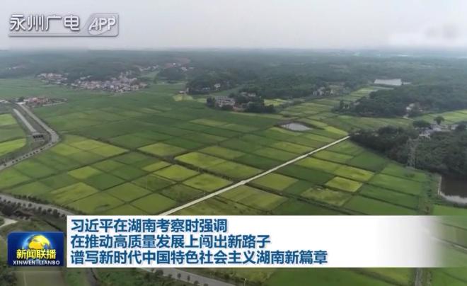习近平在湖南考察时强调 在推动高质量发展上闯出新路子 谱写新时代中国特色社会主义湖南新篇章