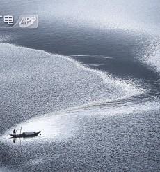 图说《潇水湿地》摄影作品水墨丹青