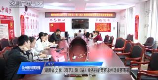 (文化)湖南省文化(群艺)馆(站)业务技能竞赛永州选拔赛落幕