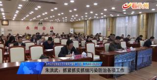 """永州召開迎接省生態環境保護督察""""回頭看""""工作部署視頻會議"""