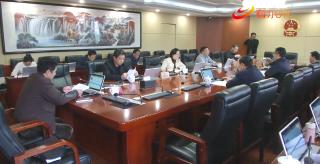 市五屆人大常委會第81次主任會議召開
